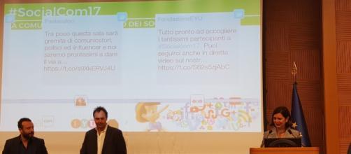 La Presidente della Camera, Laura Boldrini, alla presentazione dell'evento #SocialCom17.
