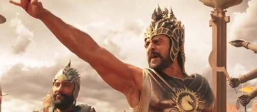 Prabhas and Satyha Raj from Baahubali movie