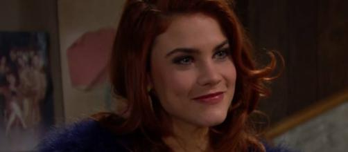 """Sally Spectra on """"The Bold and the Beautiful."""" Canyon=news.com"""
