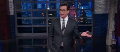 Stephen Colbert on Donald Trump, via YouTube