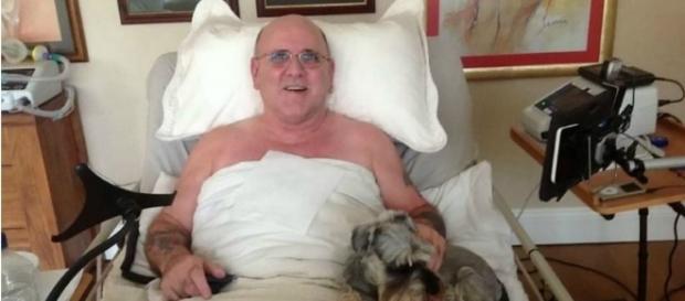David Nigel Casson não perdeu o bom humor apesar da doença