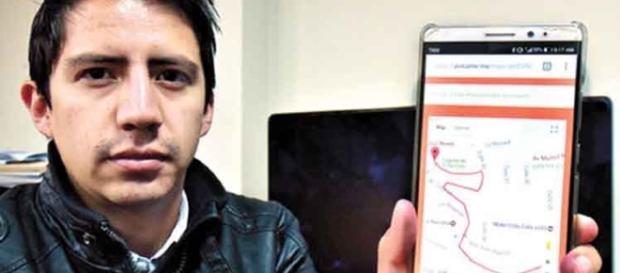 El desarrollador boliviano asegura que la aplicación cuenta con más de mil descargas
