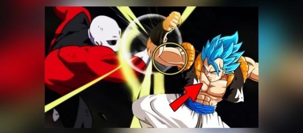Gogeta vs Jiren en el torneo del poder.