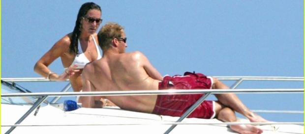 O casal real estava de férias quando tudo aconteceu
