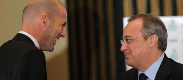 Zidane entraîneur du Real Madrid : Florentino Perez sait comment ... - eurosport.fr