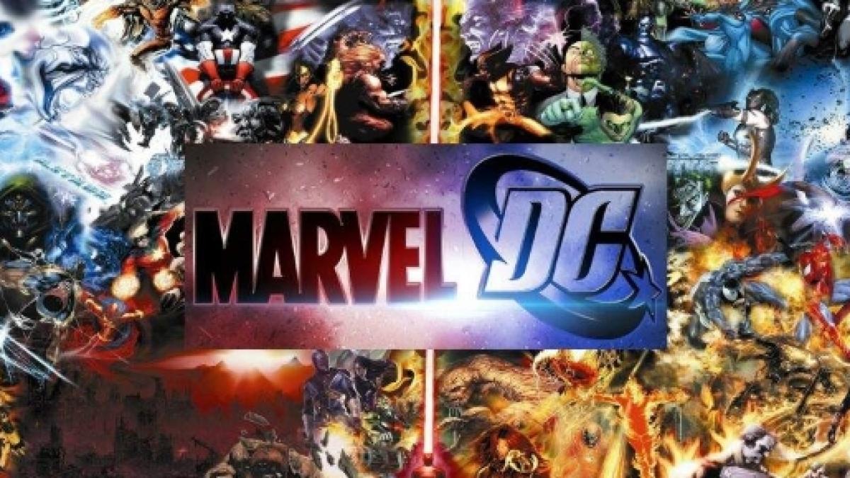 Marvel Comics Universe vs  DC Comics Universe