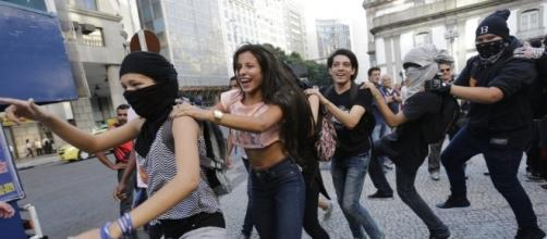 Brazil OLY Protest Education | News OK - newsok.com