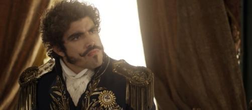 Caio Castro como Dom Pedro I em Novo Mundo