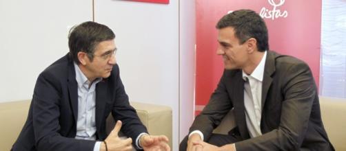 El candidato a la secretaría general del PSOE sigue buscando votos