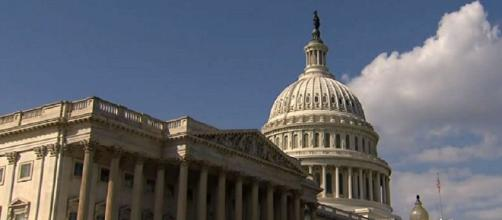 House passed Trump's health care repeal bill. It moves to the Senate. [Image credit: @ktva/Twitter]