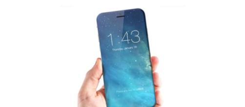 iPhone 8: uno dei tanti render pubblicati in questi ultimi mesi.