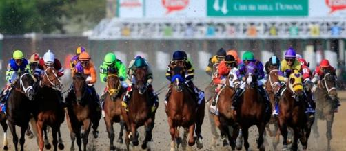 The Kentucky Derby 2017 takes place on Saturday from Churchill Downs. [Image via Blasting News image library/sportingnews.com]