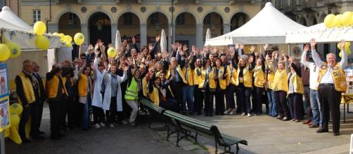 """Un'immagine del """"Lions Day"""" celebrato a Torino nell'aprile 2017"""