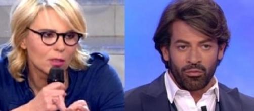 """Uomini e donne"""", Maria De Filippi contro Gianni Sperti"""