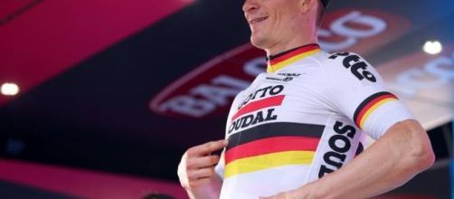 Vittoria a Tortolì del campione tedesco nella seconda tappa del #giro100