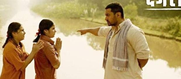A still from Aamir Khan's Dangal movie