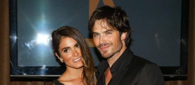 Art of Cuteness from Nikki Reed and Ian Somerhalder: Romance Rewind - eonline.com