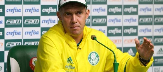 Eduardo Baptista está fora do Palmeiras