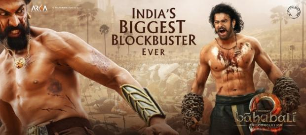 Prabhas and Rana Daggubati from Baahubali: The Conclusion