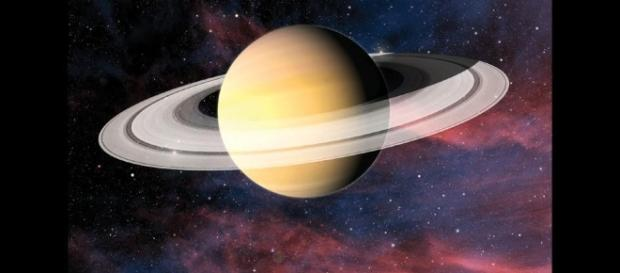Saturn with its rings & moons where alien life may exist by: Lyndie Smith - ThingLink - thinglink.com