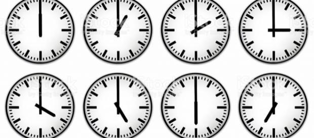 Twelve Hours Clock Face stock photo 117328392 | iStock - istockphoto.com