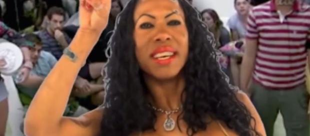 A web-celebridade Inês Brasil causou polêmica