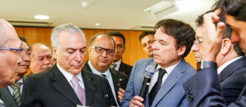 Robson Rodovalho, presidente da CONCEPAB, e outros pastores e bispos protestantes oferecem apoio a Temer
