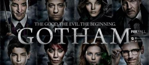 Una locandina della serie tv americana Gotham