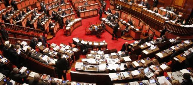 Cocaina nei bagni del Parlamento