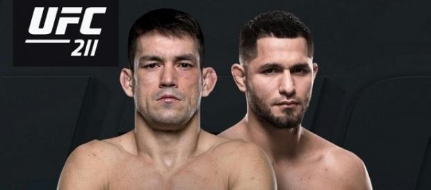 Damien Maia versus Jorge Masvidal [Image Credit: Twitter/UFC]