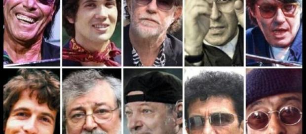 I più grandi cantautori italiani