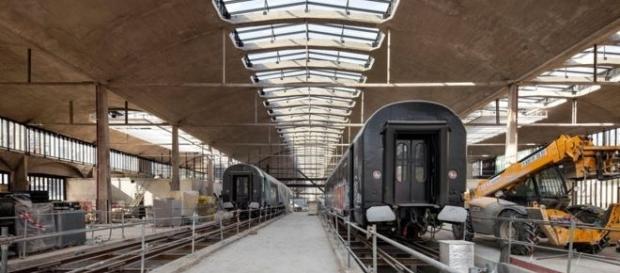 La antigua estación de tren fue declarada monumento histórico en 2012