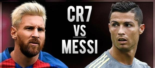 La course au ballon d'or duel entre les deux joueurs. photo de youtube.