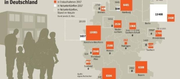 La Repubblica Federale tedesca ha accolto oltre 1,2 milioni di rifugiati lo scorso anno. Ma il numero è destinato ad aumentare