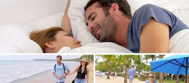 """""""Married At First Sight"""" couples on honeymoon - Photo: Blasting News Library - previously.tv"""