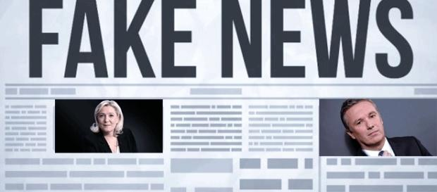 Pourquoi Marine Le Pen et Nicolas Dupont-Aignan n'ont-ils pas dénoncé les fausses nouvelles ? Calcul ? Hypocrisie ? C'est à gerber