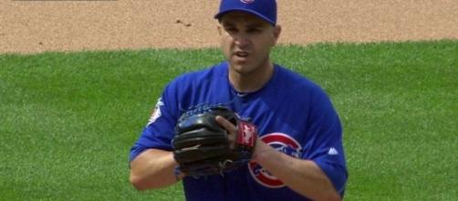 Cubs' Miguel Montero pitches vs. Mets in rout | MLB.com - mlb.com