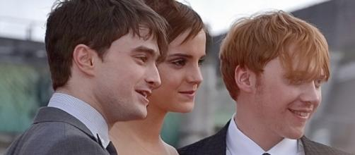 Daniel Radcliffe, Emma Watson & Rupert Grint at the wold premiere of Harry Potter & The Deathly Hallows - Ilona Higgins - Flickr