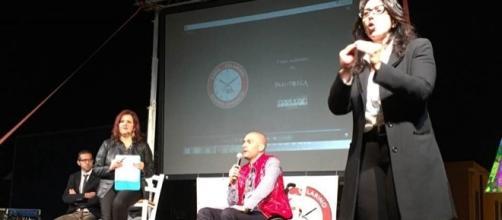 La presentazione del candidato al Consiglio comunale Fabio Casella