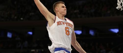 New York Knicks: Kristaps Porzingis Makes NBA History - dailyknicks.com