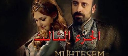 Póster de 'Solimán el Magnífico', serie turca triunfadora en varios países pero condenada por Erdogan.