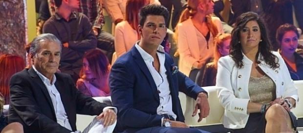 Diego Matamoros en un Gala de 'Supervivientes'