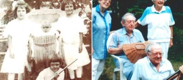Los cuatro hermanos vivieron más de 100 años en buenas condiciones