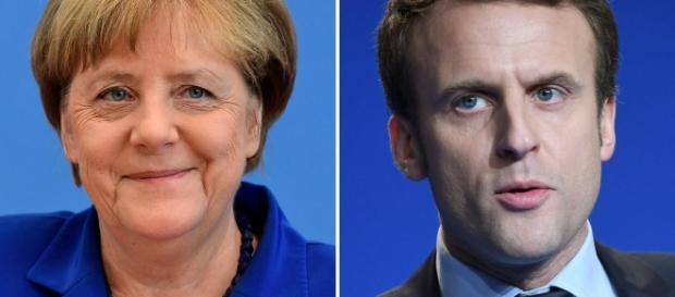 Oggi il nuovo presidente francese incontrerà la Cancelliera Angela Merkel