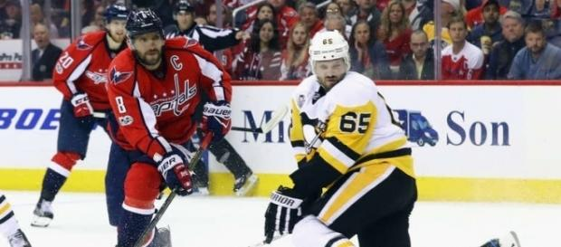 Ovechkin despertó en la serie contra los Penguins con su gol en el tercer periodo. NHL.com.
