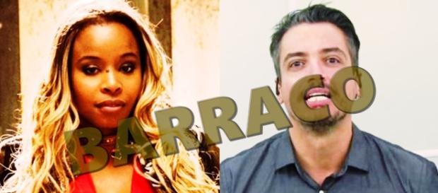 Roberta Rodrigues ataca Léo Dias - Google