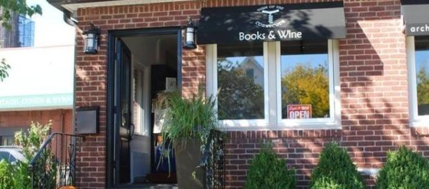 Turn of the Corkscrew Books and Wine is located in Rockville Center, Long Island. / Photo via Carol Hoenig, used with permission.