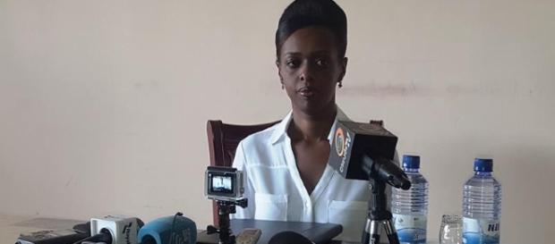 Diane Rwigara tem fotos nuas vazadas na web