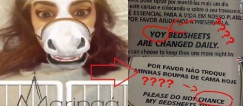 Anitta falou mal de erros em hotel de Maringá