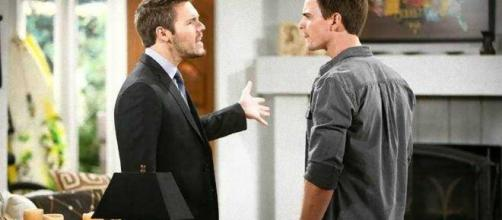 Beautiful: scontro tra Liam e Wyatt.
